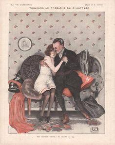 Georges Léonnec (1881 - 1940). La Vie Parisienne, 1919. [Pinned 11-i-2015]