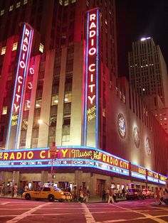 Perform in some way, shape or form at Radio City Music Hall