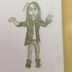 Valkyrie from Skulduggery Pleasant as a zombie XD