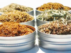 Red Meat Spice Rub Sampler  6 delicious hand by CraigsMarket, $14.95