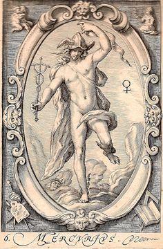 Hendrick Goltzius - Mercure (1597)