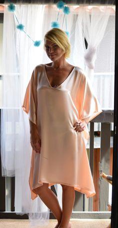 Silk Bridal Nightgown Wedding Lingerie Sleepwear Honeymoon Silk Kaftan 18fccd368