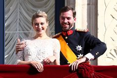 A Royal Wedding! All the Details on Princess Stephanie's Nuptials, From the Gown to the Hats | StyleCaster