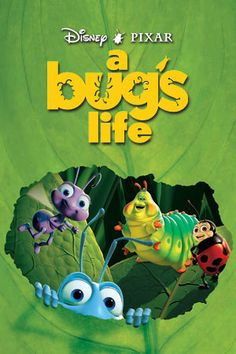 A Bug's Life. My all-time favorite Disney/Pixar movie. The very first animated film I ever saw with outtakes. What a hoot! Bonnie Hunt, Walt Disney Movies, Disney Movie Posters, Disney Characters, Fictional Characters, Disney Animation, Animation Film, Computer Animation, Good Comedy Movies