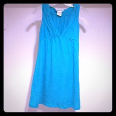 Cute teal dress (XS) perfect for summer! Rip curl teal dress. Like new!! Never worn, tags removed. Perfect for summer and bathing suit cover up! Needs a new home! Rip Curl Dresses