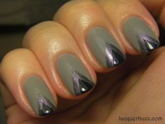 Grey chevrons