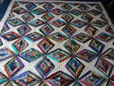 Diamonds are forever.....Quilted by Charisma