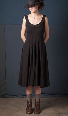Collared Corset Dress