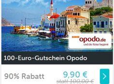 Opodo: Reise-Gutschein über 100 Euro für 9,90 Euro via Dailydeal https://www.discountfan.de/artikel/reisen_und_bildung/opodo-reise-gutschein-ueber-100-euro-fuer-9-90-euro-via-dailydeal.php Via Dailydeal ist jetzt beim Reiseportal Opodo.de ein Gutschein über 100 Euro zum Schnäppchenpreis von 9,90 Euro zu haben – unter dem Strich sparen Discountfans so 90,10 Euro. Opodo: Reise-Gutschein über 100 Euro für 9,90 Euro via Dailydeal (Bild: Dailydeal.de) Der Opodo-Gutsc