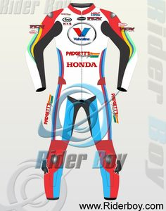 Bruce Anstey Motorcycle Leather Racing Suit