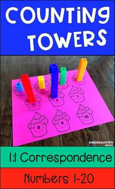 Practice number sense with this interactive math center