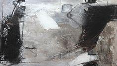 PETRA LORCH | ABSTRAKTE MALEREI | www.lorch-art.de Komposition 10.064.2 | 140×80 | Mischtechnik auf Leinwand | Neue Serie – schwarz – weiss | Petra Lorch | Freischaffende Künstleri…