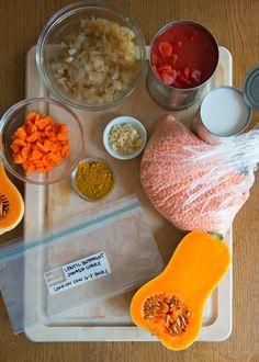 Lentil Butternut Squash Curry | 21 Vegetarian Dump Dinners For The Crock Pot