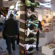 Spring Bowties from Kingston Twenty One at the Brooklyn Flea