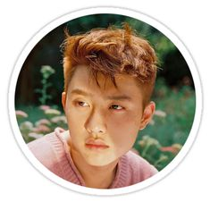 'Kyungsoo' Sticker by Exo Stickers, Clear Stickers, Printable Stickers, Custom Stickers, Exo Cartoon, Exo Do, Funny Kpop Memes, Aesthetic Boy, Pop Bands