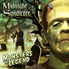 Cover art for Midnight Syndicate's Monsters of Legend, what Steve calls their best release yet.