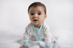 Designer Baby Clothes - Baby Boys Sapling El Perro Zip Romper - Funky, stylish and super soft!  The gorgeous El Perro baby zip romper is made from 100% GOTS certified organic cotton meaning it is gentle on even the most sensitive of babies!  Printed with 100% GOTS approved water based dye and mad from super soft, high quality, double jersey organic cotton!   #designerbaby #babyboysclothing #babyfashion #organiccotton #babyromper #littlebooteek #sapling