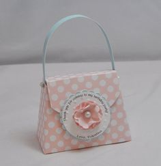 Shabby Chic Favor Purses Set of 6 by CardsandMoorebyTerri on Etsy, $18.00