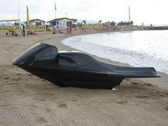 Futuristic Vehicle, Exo Electric Watercraft