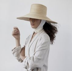 Clyde Woven Hat with Strap | Remodelista