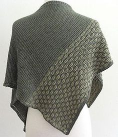 Ravelry: Basket Stitch Shawl pattern by Nazanin S. Fard