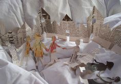 paper doll and house chains | Flickr - Photo Sharing!