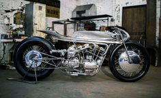hazan motorworks supercharged ironhead designboom