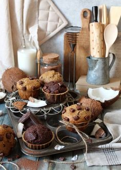 Healthy Dessert Recipes, Breakfast Recipes, Vegan Recipes, Desserts, Dairy, Banana, Cheese, Blog, Tailgate Desserts