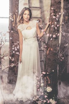 Romantic wedding dress from Ivy & Aster