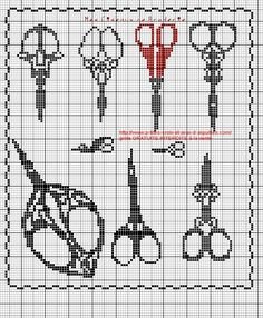 brodeuse - embroiderer - point de croix - cross stitch - Blog : http://broderiemimie44.canalblog.com/