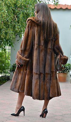 Nouveau 2016 demi buff royal saga mink fur libertin manteau clas poncho sable fox veste