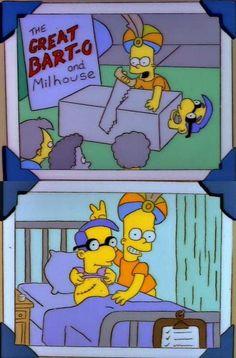 """Milhouse to Bart! Milhouse to Bart! Simpsons Funny, Simpsons Quotes, The Simpsons, Bart Simpson, Los Simsons, Futurama, Cool Cartoons, Mellow Yellow, Anime"