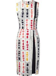 Shop ETRO Sleeveless Shift Dress from Farfetch
