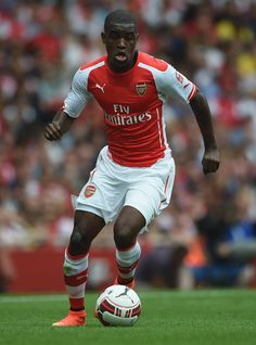 Joel Campbell of Arsenal FC in the Emirates Cup