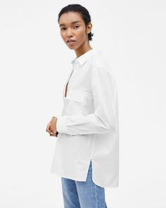 Relaxed Shirt White