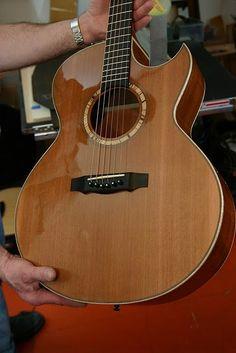 Kwasnycia SJ Mahogany Acoustic Guitar