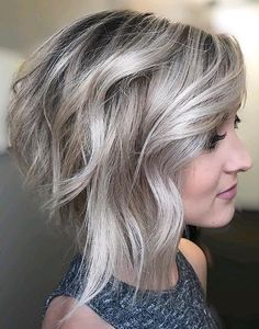 60 Layered Bob Styles: Modern Haircuts with Layers for Any Occasion Inverted Disconnected Silver Blonde Bob Bob Style Haircuts, Layered Bob Hairstyles, Modern Haircuts, Hairstyles Haircuts, Modern Hairstyles, Scene Hairstyles, Boy Haircuts, Haircut Style, Pixie Haircuts