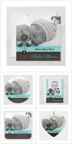 Baby Boy Cakes, Cakes For Boys, Holiday Cards, Christmas Cards, Baby Birth, Custom Cards, Cute Cakes, Christmas Card Holders, Hand Sanitizer