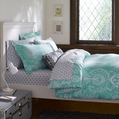 PBTeen Natalia Duvet Cover & Sham. Just ordered it today for college :)