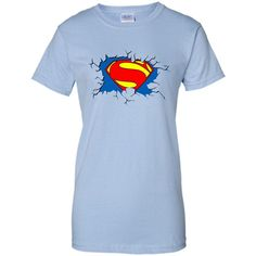 Funny Father's Day Super Dad Inside T-shirt