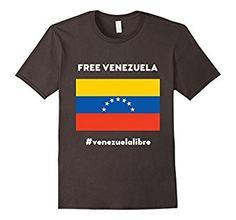 Unisex Free Venezuela - Venezuela Libre: Clothing