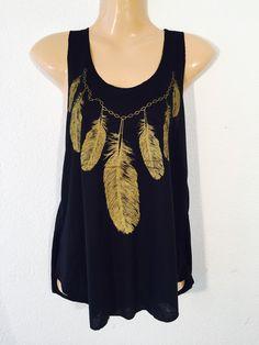 Camiseta+pluma+de+PIKMODE+por+DaWanda.com