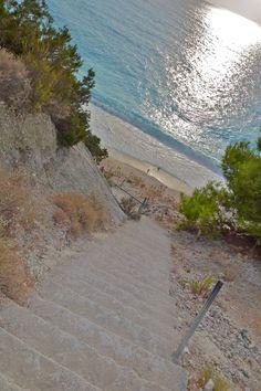 """the """"egremnoi"""" beach, Lefkada, Greece"""