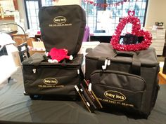 The Baby Lock trolley bags make it easy to take your machine to a class, or on vacation. Trolley Bags, North Face Backpack, Bag Making, Baby Car Seats, The North Face, Vacation, Sewing, Children, Easy