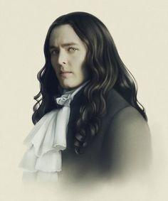 Amazing art work of Alexander Vlahos as Monsieur Philippe Duc D'Orleans in the hit canal+ series Versailles