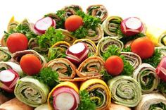 How to Make Wrap Sandwiches for Party Platters