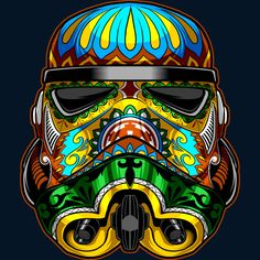 Festive Stormtrooper is a T Shirt designed by StarWars to illustrate your life and is available at Design By Humans