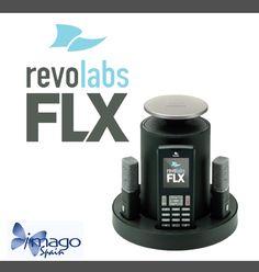 La solución de Revolabs FLX combina una calidad de audio superior con la libertad inalámbrica (puedes mover los micrófonos y los altavoces cuando los necesites). http://imagospain.blogspot.com.es/2011/09/nuevo-revolabs-flx.html