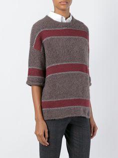 Brunello Cucinelli полосатый свитер