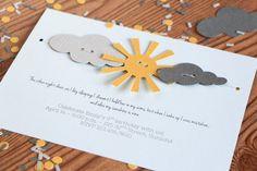 You Are My Sunshine Garland Invitation for by ConfettiGrove